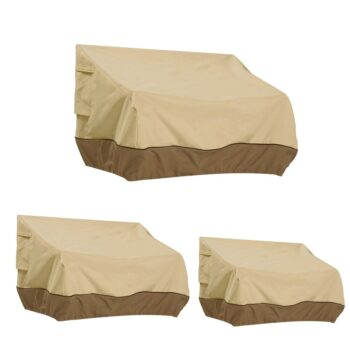 Waterproof Outdoor Couch Cover 6 Chair And Sofa Covers