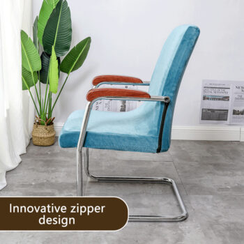 Stretchable Waterproof Spandex Office Chair Covers 13 Chair And Sofa Covers