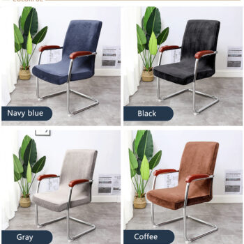 Stretchable Waterproof Spandex Office Chair Covers 16 Chair And Sofa Covers