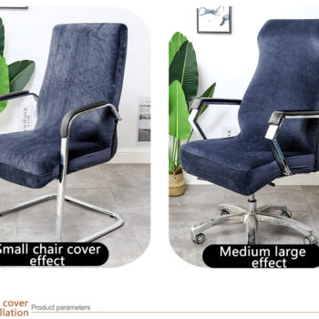 Stretchable Waterproof Spandex Office Chair Covers 10 Chair And Sofa Covers