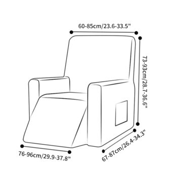 Non-Slip Recliner Slipcover 13 Chair And Sofa Covers