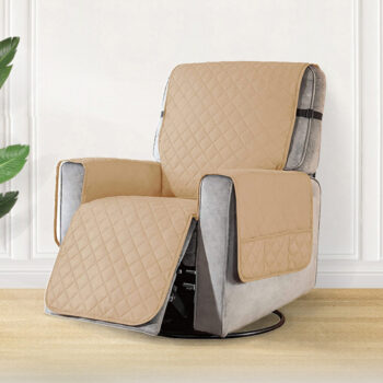 Removable Towel Recliner Cover With Pockets 16 Chair And Sofa Covers