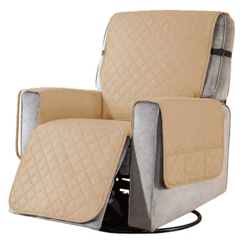 Removable Towel Recliner Cover With Pockets 14 Chair And Sofa Covers