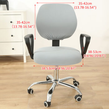 Stretchable Armchair Anti-Dust Covers - Office Computer Chair Covers 37 Chair And Sofa Covers