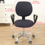 Stretchable Armchair Anti-Dust Covers - Office Computer Chair Covers 1 Chair And Sofa Covers