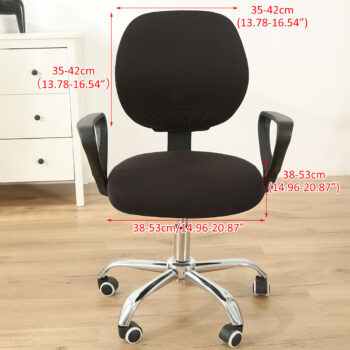 Stretchable Armchair Anti-Dust Covers - Office Computer Chair Covers 14 Chair And Sofa Covers