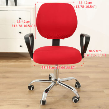Stretchable Armchair Anti-Dust Covers - Office Computer Chair Covers 8 Chair And Sofa Covers