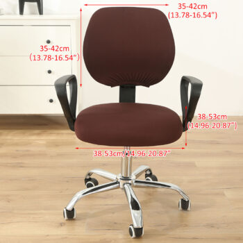 Stretchable Armchair Anti-Dust Covers - Office Computer Chair Covers 20 Chair And Sofa Covers