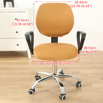 Stretchable Armchair Anti-Dust Covers - Office Computer Chair Covers 30 Chair And Sofa Covers