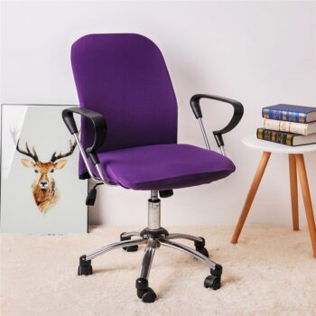 Spandex Office Chair Covers In Solid Colors 22 Chair And Sofa Covers