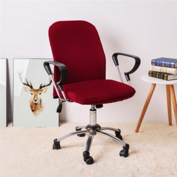 Spandex Office Chair Covers In Solid Colors 18 Chair And Sofa Covers