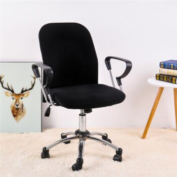 Spandex Office Chair Covers In Solid Colors 16 Chair And Sofa Covers