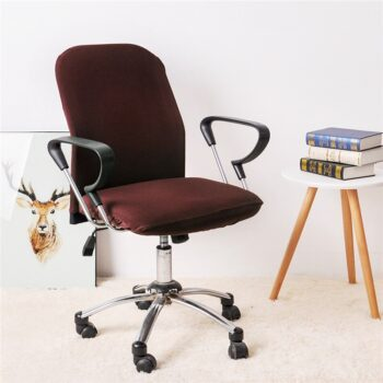 Spandex Office Chair Covers In Solid Colors 19 Chair And Sofa Covers
