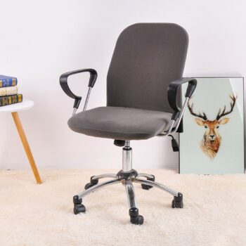 Spandex Office Chair Covers In Solid Colors 9 Chair And Sofa Covers