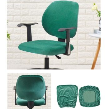 Velvet Chair Cover For Office Armchair 12 Chair And Sofa Covers