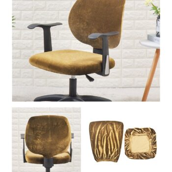 Velvet Chair Cover For Office Armchair 19 Chair And Sofa Covers