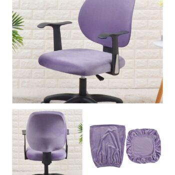 Velvet Chair Cover For Office Armchair 15 Chair And Sofa Covers
