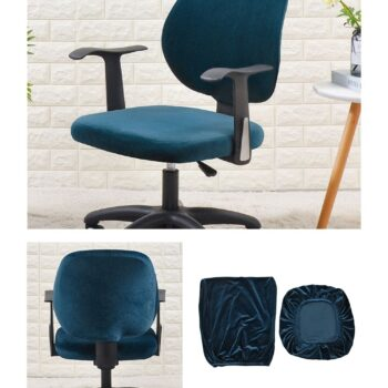Velvet Chair Cover For Office Armchair 18 Chair And Sofa Covers