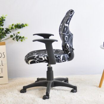 2 Pieces Printed Computer Chair Cover 12 Chair And Sofa Covers
