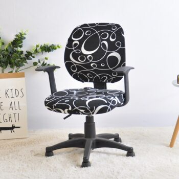 2 Pieces Printed Computer Chair Cover 11 Chair And Sofa Covers