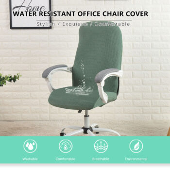 Water Resistant Jacquard Computer Chair Cover 7 Chair And Sofa Covers