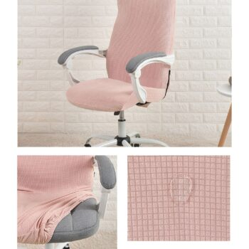 Water Resistant Jacquard Computer Chair Cover 12 Chair And Sofa Covers