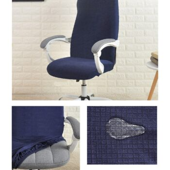 Water Resistant Jacquard Computer Chair Cover 21 Chair And Sofa Covers