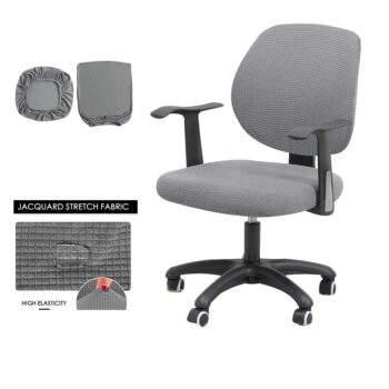 Water Resistant Jacquard Computer Chair Cover 25 Chair And Sofa Covers