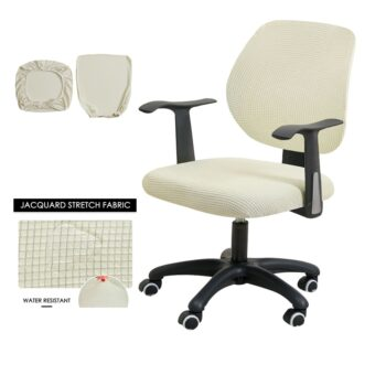 Water Resistant Jacquard Computer Chair Cover 27 Chair And Sofa Covers