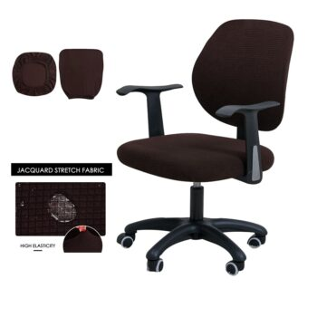 Water Resistant Jacquard Computer Chair Cover 26 Chair And Sofa Covers