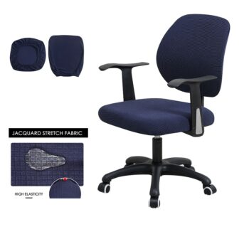 Water Resistant Jacquard Computer Chair Cover 31 Chair And Sofa Covers