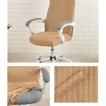 Water Resistant Jacquard Computer Chair Cover 20 Chair And Sofa Covers