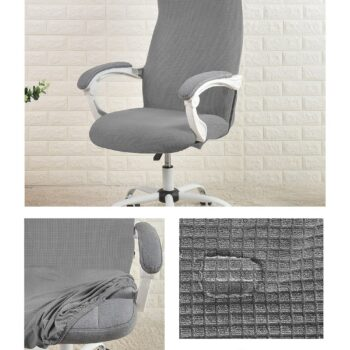 Water Resistant Jacquard Computer Chair Cover 15 Chair And Sofa Covers