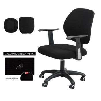 Water Resistant Jacquard Computer Chair Cover 24 Chair And Sofa Covers