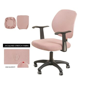 Water Resistant Jacquard Computer Chair Cover 23 Chair And Sofa Covers